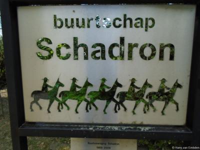 Schadron is een buurtschap in de provincie Noord-Brabant, gemeente Uden. De buurtschap valt onder het dorp Volkel. De buurtschap heeft van de gemeente geen plaatsnaamborden gekregen, dus hebben ze zelf maar een fraai bord gemaakt.