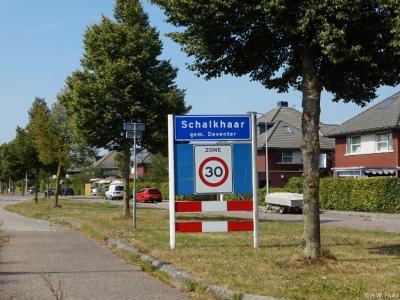 Schalkhaar is een dorp in de provincie Overijssel, in de streek Salland, gemeente Deventer. T/m 1998 gemeente Diepenveen.
