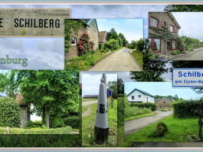 Schilberg, collage van buurtschapsgezichten (© Jan Dijkstra, Houten)