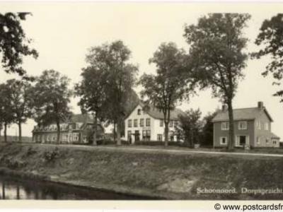 Schoonoord, dorpsgezicht, 1959