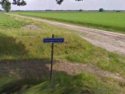 Schreierswijk is een buurtschap in de provincie Drenthe, gemeente Aa en Hunze. T/m 1997 gemeente Gasselte. Foto aan de zuidkant van de gelijknamige weg, anno 2009. (© Google StreetView)