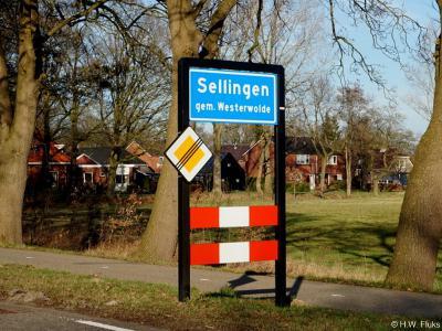 Sellingen is een dorp in de provincie Groningen, in de streek en gemeente Westerwolde. T/m 2017 gemeente Vlagtwedde. Het was de hoofdplaats van de gemeente Vlagtwedde, en is nu een van de twee hoofdplaatsen van de gemeente Westerwolde (naast Wedde).