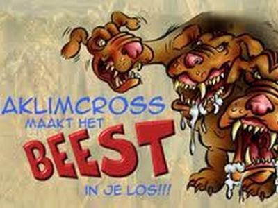 Jaarlijks is er in Sibculo op een zaterdag in augustus de Aquaklimcross. En die maakt kennelijk het beest in je los, dus je bent gewaarschuwd...