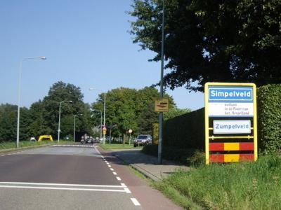 Simpelveld is een dorp en gemeente in de provincie Limburg, in de regio´s Heuvelland en Parkstad. (© H.W. Fluks)