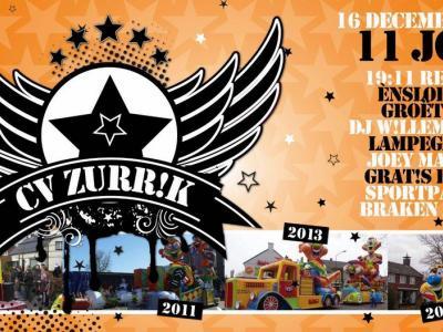 Soerendonk heet in het Brabants Zurrik. Carnavalsvereniging CV Zurrik is hier dan ook naar genoemd. In 2017 hebben ze het 11-jarig bestaan gevierd (in de carnavalswereld rekent men voor jubilea in eenheden van 11).