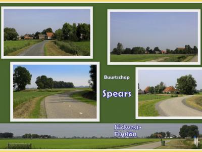 Spears, collage van buurtschapsgezichten (© Jan Dijkstra, Houten)