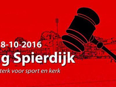 Voor de jaarlijkse 'Veiling Spierdijk - samen sterk voor sport en kerk' worden inwoners en ondernemers uitgedaagd om originele aanbiedingen te bedenken. De opbrengst komt ten goede aan de lokale sportverenigingen en aan het onderhoud van de kerk.