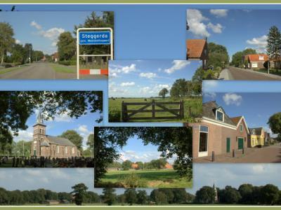 Steggerda is een dorp in de provincie Fryslân, in de streek Stellingwerven, gemeente Weststellingwerf. (© Jan Dijkstra, Houten)