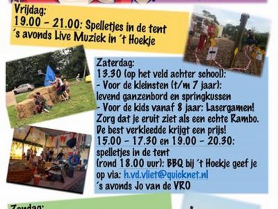 Een van de jaarlijkse evenementen in Stroet is de Kermis (weekend eind augustus)