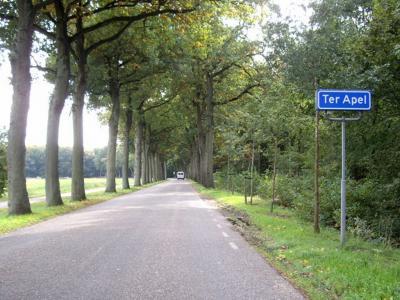 Ter Apel is een dorp in de gemeente Westerwolde. T/m 2018 gemeente Vlagtwedde. (© H.W. Fluks)
