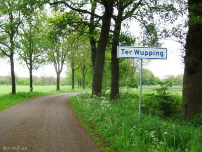 De piepkleine buurtschap Ter Wupping is toch tamelijk bekend omdat het in een prachtig natuurgebied ligt, dat recentelijk ook nog eens flink is uitgebreid en opgeknapt.