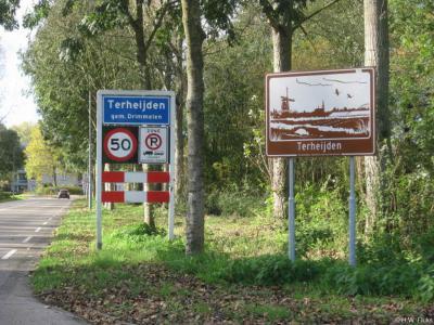 Terheijden is een dorp in de provincie Noord-Brabant, in de regio West-Brabant, en daarbinnen in de streek Amerstreek, gemeente Drimmelen. Het was een zelfstandige gemeente t/m 1996.
