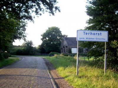 De buurtschap Terhorst bij Beilen werd vroeger gespeld als Ter Horst, maar tegenwoordig wordt dat als een woord gespeld, getuige o.a. de straatnaam en de plaatsnaamborden. Daarom stellen wij voor dat het natuurgebied Terhorsterzand ook zo gespeld wordt.