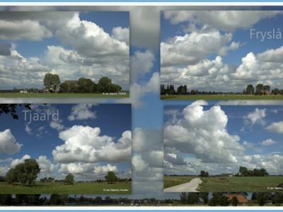 Tjaard, collage van buurtschapsgezichten (© Jan Dijkstra, Houten)