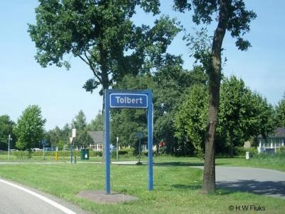 Tolbert is een dorp in de provincie Groningen, in de streek en gemeente Westerkwartier. T/m 2018 gemeente Leek.