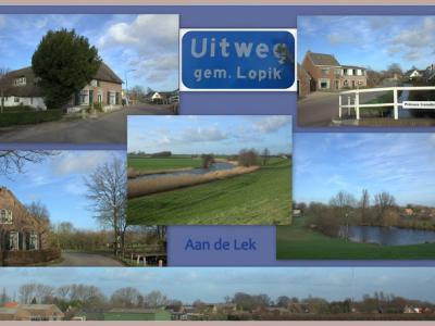 Uitweg, collage buurtschapsgezichten (© Jan Dijkstra, Houten)