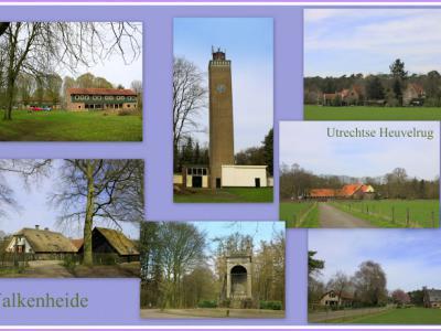Valkenheide, collage van buurtschapsgezichten (© Jan Dijkstra, Houten)