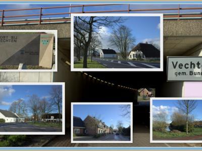 Vechten, collage van buurtschapsgezichten (© Jan Dijkstra, Houten)