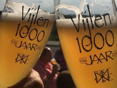 Vijlen wordt in 1016 voor het eerst in de archieven vermeld. De inwoners hebben in 2016 dan ook het 1.000-jarig bestaan van hun dorp gevierd. Daar moest op gedronken worden, o.a. met een speciaal jubileumbier 'Hèllige Hendrik'!