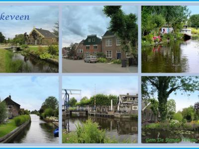 Vinkeveen, collage van dorpsgezichten (© Jan Dijkstra, Houten)