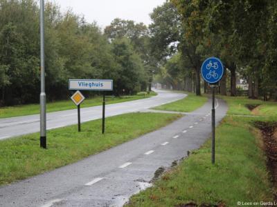 Vlieghuis is een buurtschap in de provincie Drenthe, gemeente Coevorden. De buurtschap valt onder de stad Coevorden. De buurtschap ligt buiten de bebouwde kom en heeft daarom witte plaatsnaamborden.