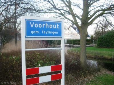 Voorhout is een dorp in de provincie Zuid-Holland, in de regio Bollenstreek, gemeente Teylingen. Het was een zelfstandige gemeente t/m 2005.