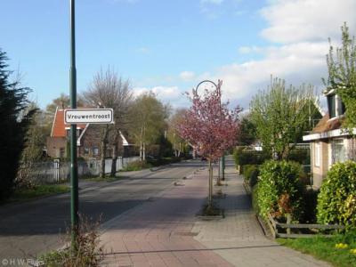 Vrouwentroost is een buurtschap gelegen tussen de dorpen Aalsmeer en Kudelstaart