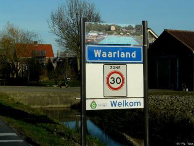 Waarland is een dorp in de provincie Noord-Holland, in de streek West-Friesland, gemeente Schagen. T/m 2012 gemeente Harenkarspel.