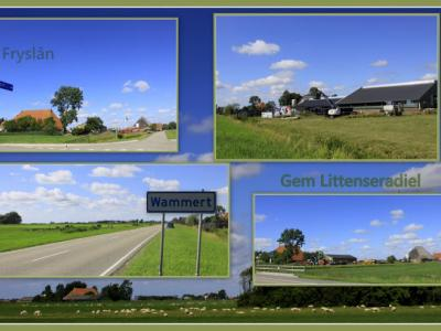 Wammert is een buurtschap in de provincie Fryslân, gemeente Leeuwarden. T/m 1983 gemeente Baarderadeel. In 1984 over naar gemeente Littenseradiel, in 2018 over naar gemeente Leeuwarden. De buurtschap valt onder het dorp Easterlittens. (© Jan Dijkstra)