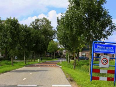 Wânswert is een dorp in de gemeente Noardeast-Fryslân. T/m 2018 gemeente Ferwerderadiel. (© Jan Dijkstra, Houten)