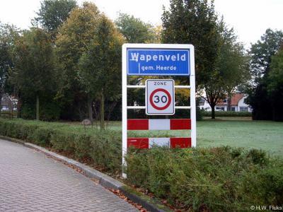 Wapenveld is een dorp in de provincie Gelderland, in de streek Veluwe, gemeente Heerde.