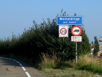 Wemeldinge is een dorp in de provincie Zeeland, in de streek Zuid-Beveland, gemeente Kapelle. Het was een zelfstandige gemeente t/m 1969.