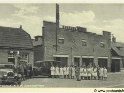 Wernhout, KVW sigarenfabrieken