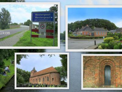 Westergeest, collage van dorpsgezichten (© Jan Dijkstra, Houten)