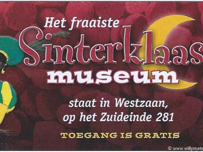 Het Sinterklaasmuseum te Westzaan wordt ieder jaar in de Sinterklaastijd opnieuw opgebouwd, in het tuinhuisje van de eigenaren.