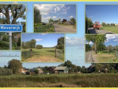 Weverwijk, collage van buurtschapsgezichten (© Jan Dijkstra, Houten)