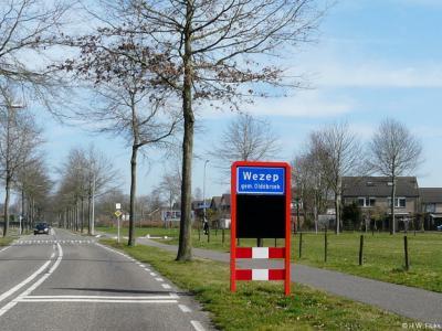 Wezep is een dorp in de provincie Gelderland, in de streek Veluwe, gemeente Oldebroek.