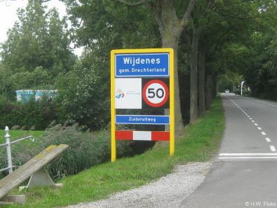 Wijdenes is een dorp in de provincie Noord-Holland, in de streek West-Friesland, gemeente Drechterland. Het was een zelfstandige gemeente t/m 31-7-1970. Per 1-8-1970 over naar gemeente Venhuizen, in 2006 over naar gemeente Drechterland.