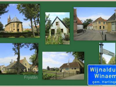 Wijnaldum is een dorp in de provincie Fryslân, gemeente Harlingen. T/m 1983 gemeente Barradeel. (© Jan Dijkstra, Houten)
