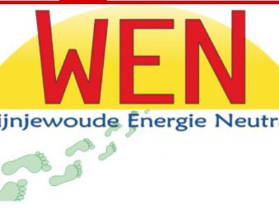 In 2015 is de coöperatie Wijnjewoude Energie Neutraal (WEN) opgericht. Doel van WEN is om als dorp in 2025 energieneutraal te zijn en, voor wat elektriciteit en gas betreft, volledig in eigen behoefte te voorzien d.m.v. zon, wind en biogas.