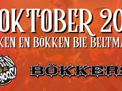 """Høken en Bökken bie Beltman in Wilp-Achterhoek (op zaterdag 13 oktober 2018, bij Stoeterij Beltmanshoeve) is volgens de site van het evenement """"Høken zoals het ooit bedoeld is: manege, muziek, en bier... alle ingrediënten voor een tof feest!"""""""