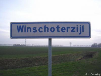 Dankzij een plaatsnaambordenproject van de heemkundekring van Bellingwedde, hebben alle buurtschappen in die gemeente, voor zover zij dat nog niet hadden, in 2013 plaatsnaamborden gekregen. Winschoterzijl (alleen aan de Blijhamse kant) is er daar een van.