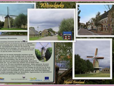 Wissenkerke, collage dorpsgezichten (© Jan Dijkstra, Houten)