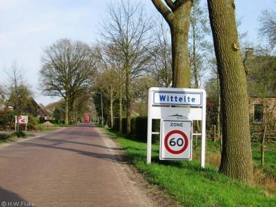 Wittelte is een dorp in de provincie Drenthe, gemeente Westerveld. T/m 1997 gemeente Diever. Het dorp is zodanig dunbebouwd dat de gemeente er geen 'bebouwde kom' voor heeft toegekend. De plaats heeft daarom witte plaatsnaamborden (met 60-km-zone).