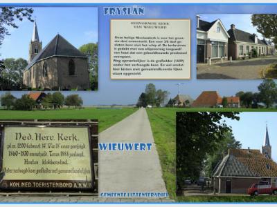 Wiuwert, collage van dorpsgezichten (© Jan Dijkstra, Houten)