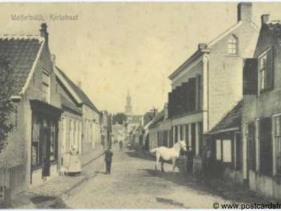 Wolphaartsdijk, Kerkstraat, ca. 1910