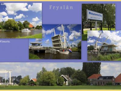 Wolsumerketting, collage van buurtschapsgezichten (© Jan Dijkstra, Houten)