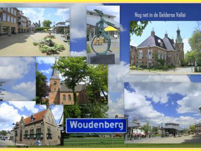 Woudenberg, collage van dorpsgezichten (© Jan Dijkstra, Houten)