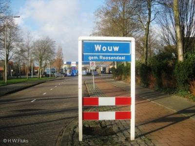 Wouw is een dorp in de provincie Noord-Brabant, in de regio West-Brabant, en daarbinnen in de streek Baronie en Markiezaat, gemeente Roosendaal. Het was een zelfstandige gemeente t/m 1996.