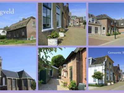 Zegveld, collage van dorpsgezichten (© Jan Dijkstra, Houten)